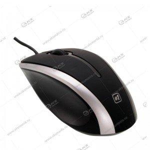 Мышь проводная Defender MM-340 черный