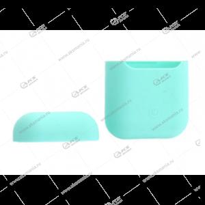 Силиконовый чехол для AirPods Case Protection мятный