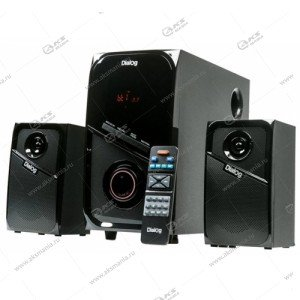 Акустические колонки AP-225 черный, 30W+2*15W, 2.1, Bluetooth,FM,USB+SD reader