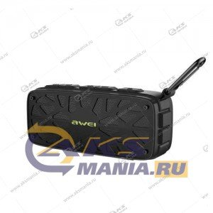 Колонка портативная Awei Y330 BT TF black