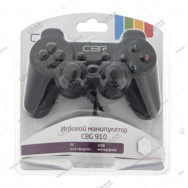 Gamepad проводной CBR CBG 910 вибрация, 12 кнопок, USB, чёрный