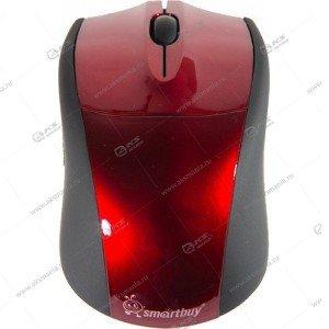 Мышь беспроводная Smartbuy SBM-325AG красная
