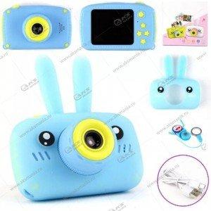 Детский фотоаппарат Zoo Kids Camera заяц голубой