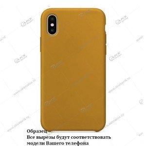 Silicone Case для iPhone 11 горчичный
