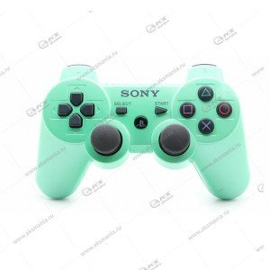 Gamepad PS3 Dualshock 3 wireless зеленый