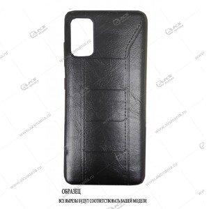Силикон Huawei Honor 10i под кожу LuxCase черный