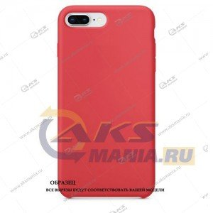 Silicone Case (Soft Touch) для iPhone X малина