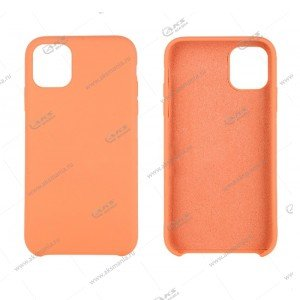 Silicone Case (Soft Touch) для iPhone 11 Pro Max оранжевый