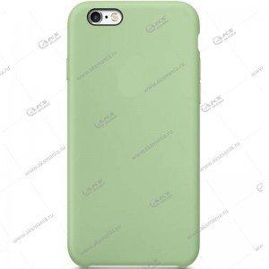 Silicone Case (Soft Touch) для iPhone 5/5S/5SE мятно-зеленый
