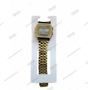 Наручные часы KASIO электронные золотые