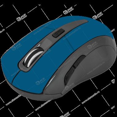 Мышь беспроводная Defender Accura MM-965 голубая