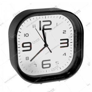 Часы 1001 будильник черный