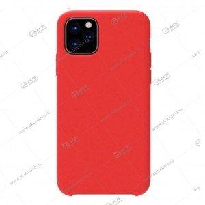 Silicone Case для iPhone 11 красный