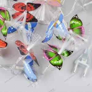 """Гирлянда """"Кисточки бабочки"""" 40LED разноцвет."""