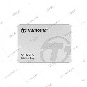Внутренний накопитель SSD Transcend 220S, SATA-III, R/W - 450/550 MB/s 2.5,SM2256,TLC