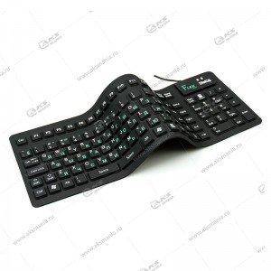 Клавиатура KFX-03U Dialog Flex - USB черный