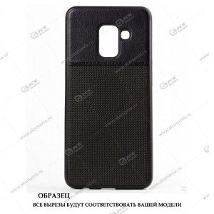 Силикон Samsung S6 Edge кожа NEW с логотипом черный