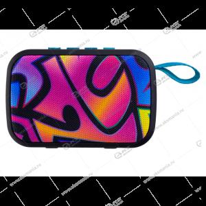 Колонка портативная Perfeo ZENS MP3.USB.SD.AUX граффити