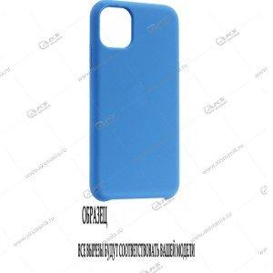 Silicone Case (Soft Touch) для iPhone X синий