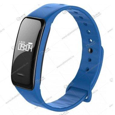 Smart Bracelet C1 Шагомер Пульсометр синий