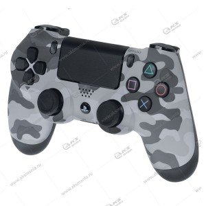 Gamepad PS4 Dualshock 4 wireless камуфляж серый