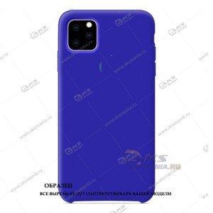 Silicone Case для iPhone 11 Pro Max оригинал ярко-синий
