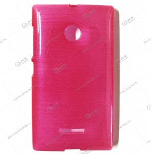 Пластик Samsung S4/i9500 карамель розовый