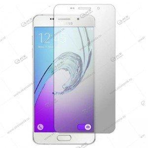 Защитное стекло Samsung A710 (2016) 3D прозрачное