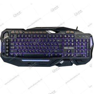 Клавиатура KGK-45U Dialog Gan-Kata - игровая с подсветкой 3 цвета, макро клавиши, USB, чёрная