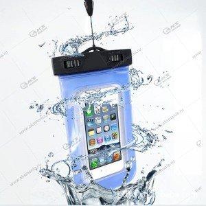 Чехол водонепроницаемый прозрачный для телефона