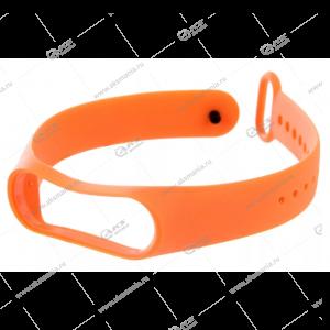 Ремешок на Mi Band 3/4 оранжевый