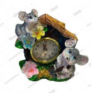 Подставка Мышь с Часами