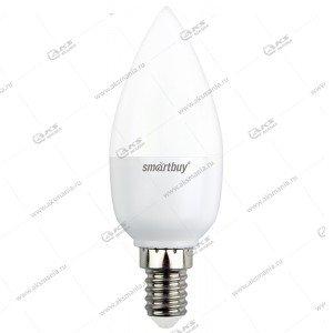 Лампа светодиодная Smartbuy C37-7W-220V-4000K-E14 (свеча, белый свет)