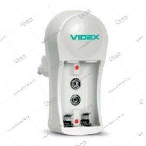 Зарядное устройство Videx VCH-N201 (пустое, 1-2 x AA, AAA, 9V)