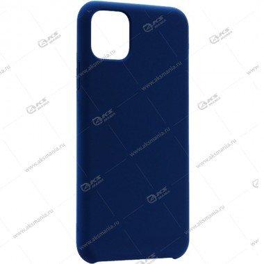 Silicone Case (Soft Touch) для iPhone 11 Pro Max тёмно-синий
