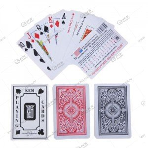 Карты игральные колода 54 шт №976