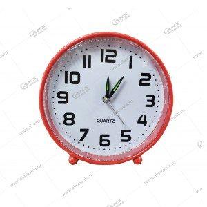 Часы 008 будильник красные