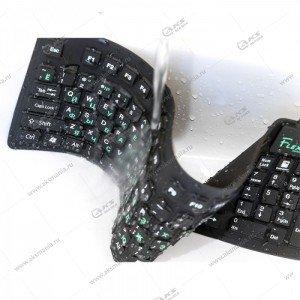 Клавиатура KFX-05U Dialog Flex - USB черный
