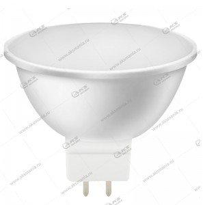 Лампа светодиодная Smartbuy MR16-7W-220V-3000K-GU5.3 (рефлекторная, теплый свет)