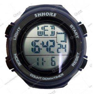 Наручные часы электронные спортивные круглые