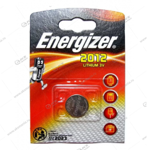 Элемент питания Energizer CR2012/1BL