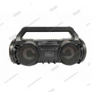 Колонка портативная BKK B98 BT/AUX/TF/FM+караоке микрофон черный
