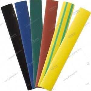 Термоусаживаемая трубка 8/4 набор из 7 цветов по 3 шт. 10см (SBE-HST-8)