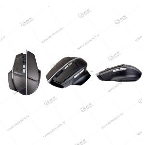 Мышь беспроводная Perfeo Concept, 7 кн, DPI 800-1600, USB,черный