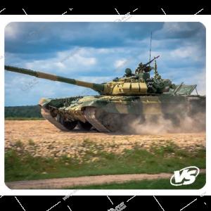"Коврик для мышки VS ""Tanks"", Рис.5 (194*233*3 мм), полипропилен+вспененный пластик"