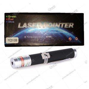 Лазер зеленый без насадок в коробке YYC201-2 встроенный АКБ