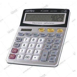 Калькулятор Perfeo PF_A4029, бухгалтерский, 12-разр., GT, серебристый