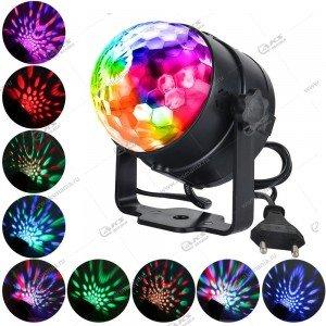 Диско шар mini Magic Music Ball Light BT