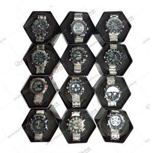 Наручные часы KASIO водонепроницаемые в металлическом боксе ассорти