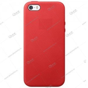 Silicone Case (Soft Touch) для iPhone 5/5S/5SE малина